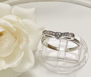 Pandora sterling bow ring size 7 for Sale in Los Angeles, CA