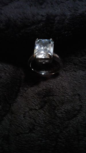 White Sapphire ring size 5 for Sale in Lexington, SC