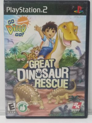 PS2 Great Dinosaur Rescue. Works Great for Sale in San Antonio, TX
