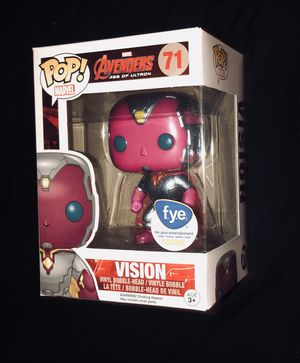 Marvel Avengers age of ultron VISION FYE Exclusive Funko Pop for Sale in La Puente, CA