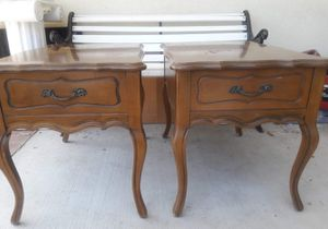 Nightstand - Side Tables Pair for Sale in Diamond Bar, CA