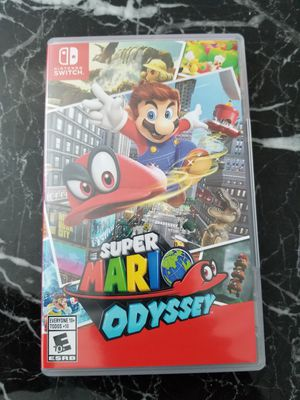 Nintendo switch Super Mario odyssey for Sale in Chicago, IL