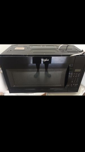 Whirlpool Microwave, 140.00 or best offer. for Sale in Lake Wales, FL