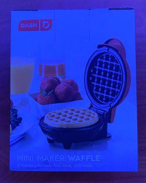 Mini Waffle Maker for Sale in Fayetteville, AR