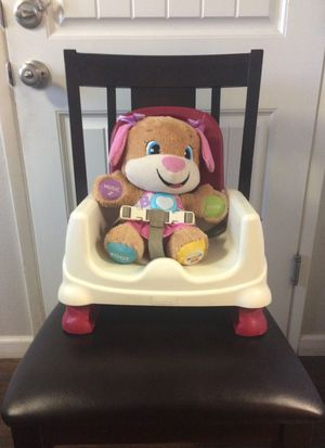 Booster seat for kids Fisher Price brand adjustable for Sale in Fresno, CA