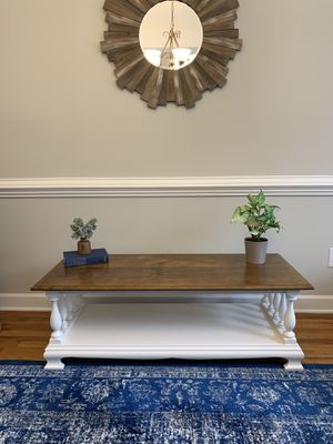 Solid wood Farmhouse Coffee Table for Sale in Raleigh, NC