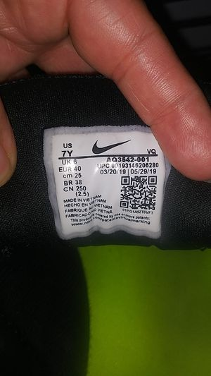 Nike running shoes my kid barely used them for Sale in San Bernardino, CA