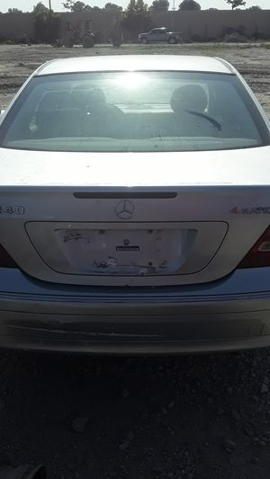 2003 Mercedes Benz C240 4 Matic for parts for Sale in Houston, TX