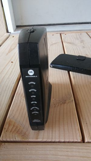 Sufboard cable modem motorola for Sale in Los Angeles, CA