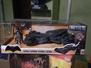 Batman v Superman Batman & batmobile for Sale in Melville, LA