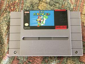 Super Nintendo Super Mario World for Sale in Seattle, WA