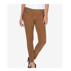 Kut Tan Brown Mia Toothpick Skinny Jeans Corduroy Pants Women's Size 10 NEW WITH TAGS for Sale in Rancho Cucamonga, CA