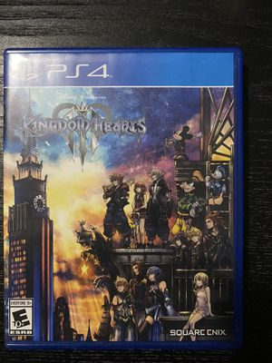 Kingdom hearts 3 ps4 for Sale in Miami, FL