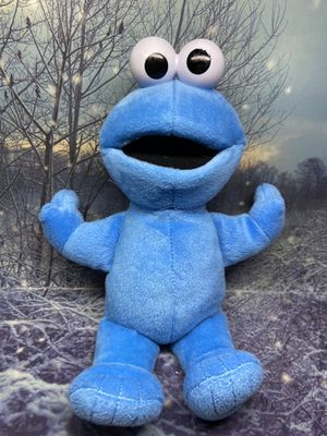 "Fisher price baby Cookie Monster 12"" plush for Sale in Lakewood, CA"