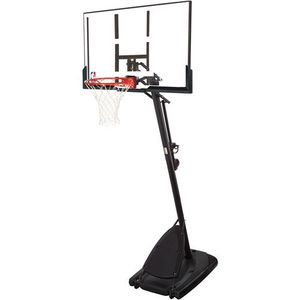 """Spalding NBA 54"""" Portable Angled Basketball Hoop with Polycarbonate Backboard for Sale in Portland, OR"""