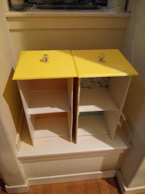 2 Repurposed antique drawers make cute shelves! for Sale in Seattle, WA