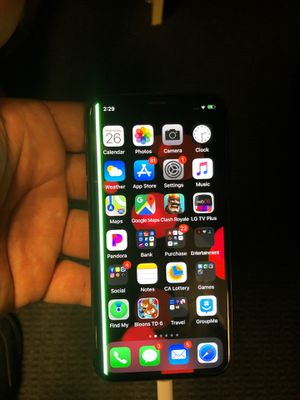 iPhone X 64 gig att for Sale in Los Angeles, CA