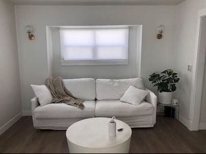 White linen cloud couch for Sale in West Hollywood, CA