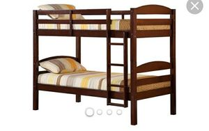 Bunk beds that convert into two twin beds for Sale in Bedford, VA