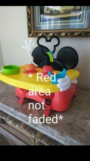 Kids Disney Mouse Helping Hands Feeding & Activity Seat High Chair for Sale in Humble, TX