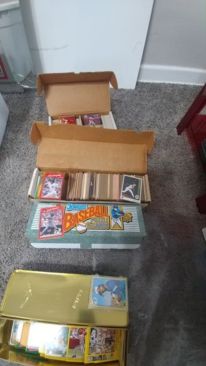 Vintage 80s 90s baseball cards for Sale in Austin, TX
