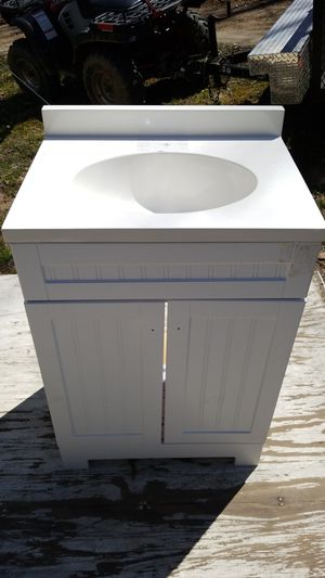 free shipping 843b1 c34e7 Bathroom Vanity with three hole top(New) for Sale in Winston-Salem,