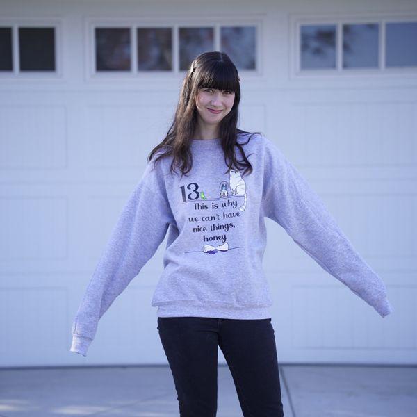 Taylor Swift Olivia Reputation Sweatshirt