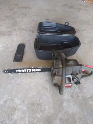 Craftsman 16 inch chainsaw for Sale in Tacoma, WA