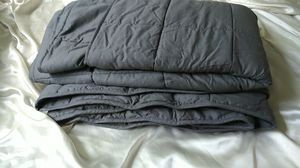 Weighted Blanket - queen sized, 20 pound, grey for Sale in Alexandria, VA