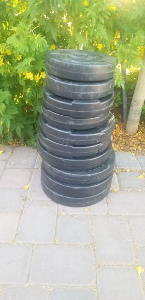 "200lb of weights 1"" bar for Sale in Scottsdale, AZ"