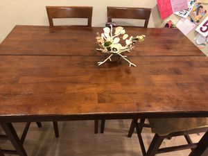 Solid Wood Dining Table for Sale in Los Angeles, CA