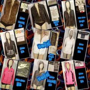 9 new ladies pullover jackets sweaters sizes on each one we have one of each for Sale in Las Vegas, NV