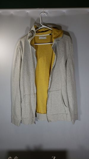 Brand FiveFour, size is XL but fits more like a large. Grey hoodie, full zip light jacket for Sale in Westerville, OH