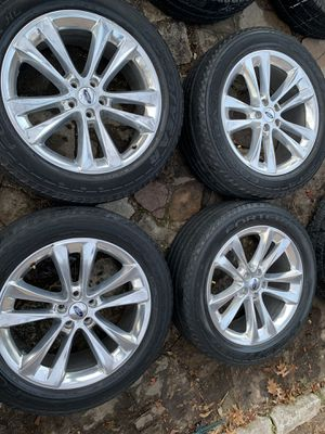 Ford wheels and tires 20 inch for Sale in Mesquite, TX