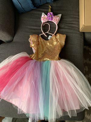 Unicorn Dress- Size 2 /3 for Sale in Fontana, CA