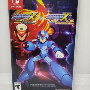 Mega Man X Legacy Collection 1+2 for Nintendo Switch for Sale in Commerce, CA