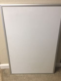 Whiteboard - Magnetic Dry Erase Board for Sale in Sunnyvale,  CA