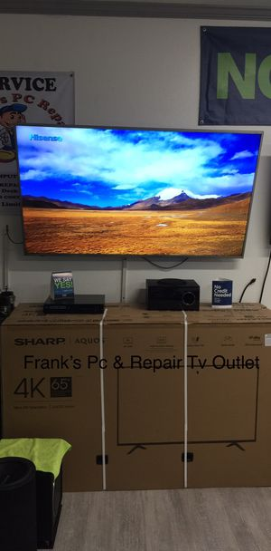 $39 DOWN/ 65 INCH SHARP AQUOS 4K SMART TV 📺 for Sale in Chino, CA