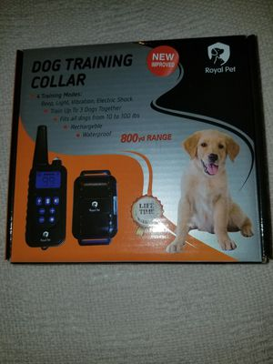 Dog training collar - Never opened for Sale in Lakeview, OH