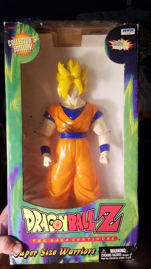 Original dragon ball z super size warrior from the 1990s never opened. for Sale in Jurupa Valley, CA