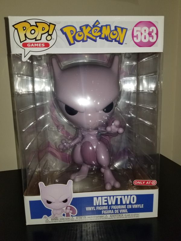 Funko POP! Pokemon 10in Mewtwo #583 Special Edition Figure
