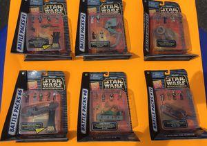 MicroMachines Star Wars Action Fleet Battle Packs for Sale in Missoula, MT