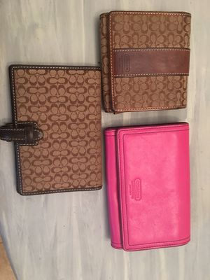 Coach wallets for Sale in Tampa, FL
