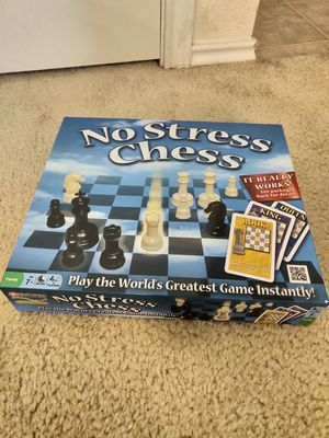 No Stress Chess Board Game for SALE! for Sale in Austin, TX