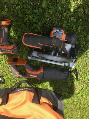 Ridgid tool set for Sale in Mansfield, OH