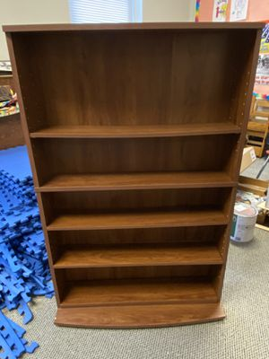 FREE: CD/ DVD Wood Case (good+ shape) for Sale in Rochester, NY