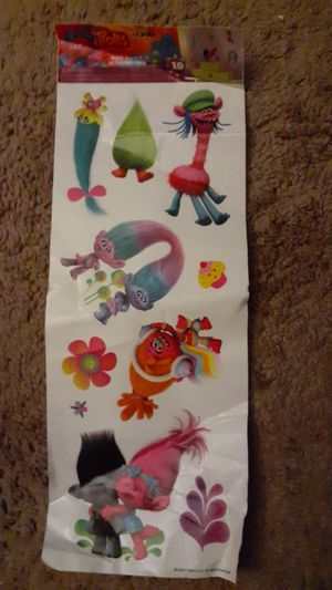 Trolls wall decals for Sale in Citrus Heights, CA