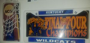 UK FINAL FOUR LIC.PLATE HOLDER AND PLATE W TV PASS for Sale in Nicholasville, KY