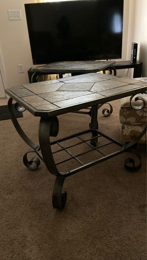 Two heavy ends table $30each for Sale in Winter Haven, FL