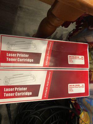 2 pack black printer toner ink for Sale in Nashville, TN